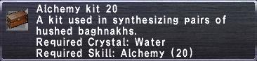 Alchemy Kit 20