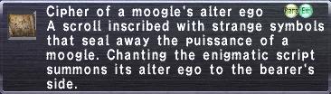 Cipher: Moogle