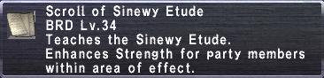 Sinewy Etude