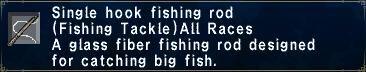 Single Hook Fishing Rod