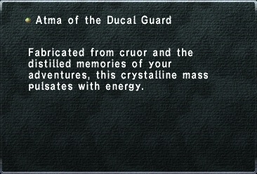 Atma of the Ducal Guard