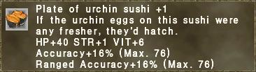 Urchin Sushi +1