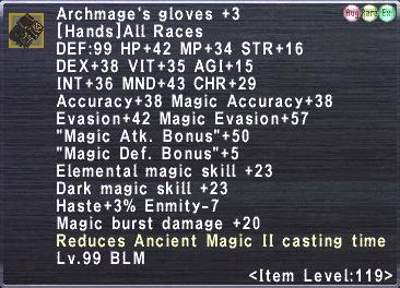 Archmage's Coat +3 Set