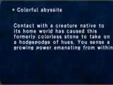 Colorful Abyssite