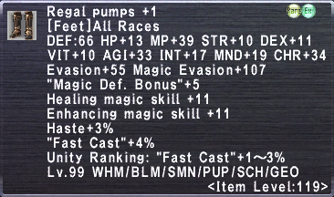 Regal Pumps +1