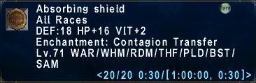 Absorbing Shield