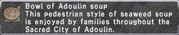Adoulin Soup