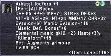 Arbatel Loafers +1