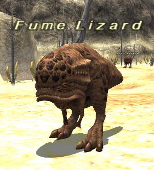 Fume Lizard