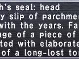 Navarch's Seal: Head