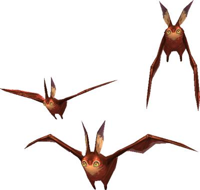 Vermilion Bat Trio (MON)