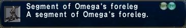 Omega's Foreleg