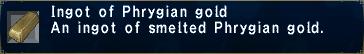 Phrygian Gold Ingot