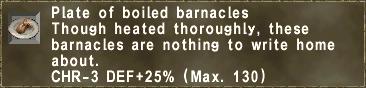 Boiled Barnacles