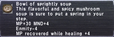Sprightly Soup