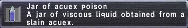 Acuex Poison