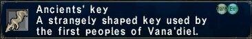 Ancients' Key
