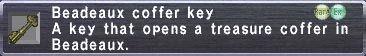 Beadeaux Coffer Key
