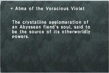 Atma of the Voracious Violet