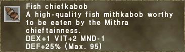 Fish Chiefkabob