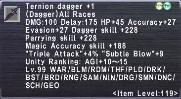 Ternion Dagger +1
