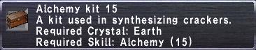 Alchemy Kit 15