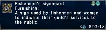 Fisherman's Signboard