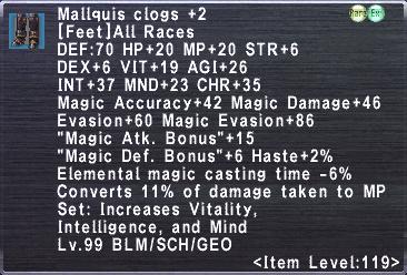 Mallquis Clogs +2