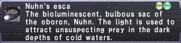 Nuhn's Esca