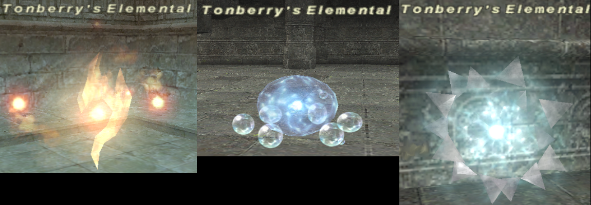 Tonberry's Elemental