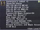 Assimilator's Jubbah +3