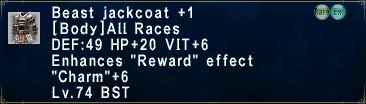Beast Jackcoat +1