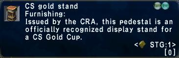 CS Gold Stand