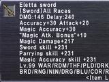 Eletta Sword