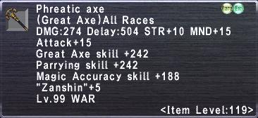 Phreatic Axe