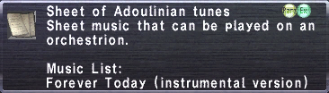 Adoulinian Tunes