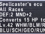 Spellcaster's Ecu
