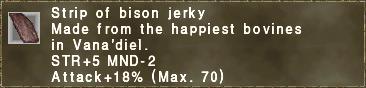 Bison Jerky