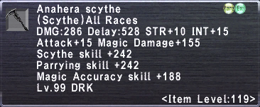 Anahera scythe