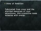Atma of Ambition