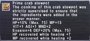 Prime Crab Stewpot