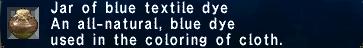 Blue Textile Dye