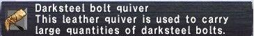 Darksteel Bolt Quiver