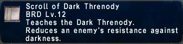 Dark Threnody