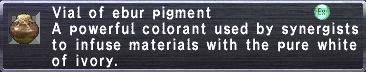 Ebur Pigment
