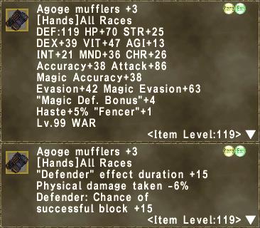 Agoge Mufflers +3