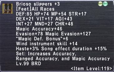 Brioso Slippers +3