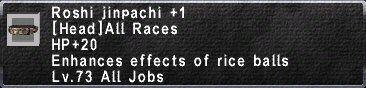 Roshi Jinpachi +1