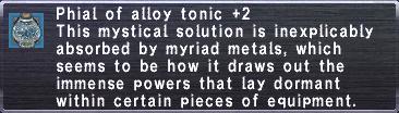 Alloy Tonic +2