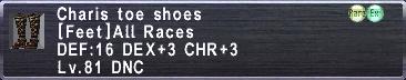 Charis Toe Shoes